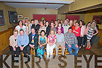 CELEBRATIONS: In McElligotts Bar, Ardfert on Friday evening Martina Long (Ardfert) celebrated her 40th birthday with her family and friends ( Martina is seated centre).