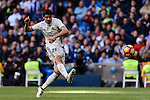 Alvaro Morata of Real Madrid in action during their La Liga match between Real Madrid and Deportivo Leganes at the Estadio Santiago Bernabéu on 06 November 2016 in Madrid, Spain. Photo by Diego Gonzalez Souto / Power Sport Images