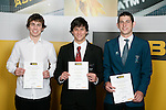 Boys Underwater Hockey finalists Nick Lowther, Andreas Marwick & David Caspersonn. ASB College Sport Young Sportperson of the Year Awards 2007 held at Eden Park on November 15th, 2007.