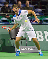 12-02-14, Netherlands,Rotterdam,Ahoy, ABNAMROWTT, Dominic Thiem(AUT)<br /> Photo:Tennisimages/Henk Koster