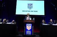 NASHVILLE, TN - FEBRUARY 15: Nashville, TN - Saturday February 15, 2020: U.S. Soccer's Annual General Meeting (AGM) at the Omni Hotel in Nashville, TN at Omni Hotel on February 15, 2020 in Nashville, Tennessee.