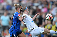 Seattle, WA - Saturday June 24, 2017: Becky Sauerbrunn during a regular season National Women's Soccer League (NWSL) match between the Seattle Reign FC and FC Kansas City at Memorial Stadium.