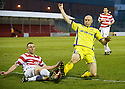 29/01/2011   Copyright  Pic : James Stewart.sct_jsp021_st_mirren_v_dundee_utd  .:: ANDY GRAHAM BLOCKS CONOR SAMMON ::.James Stewart Photography 19 Carronlea Drive, Falkirk. FK2 8DN      Vat Reg No. 607 6932 25.Telephone      : +44 (0)1324 570291 .Mobile              : +44 (0)7721 416997.E-mail  :  jim@jspa.co.uk.If you require further information then contact Jim Stewart on any of the numbers above.........