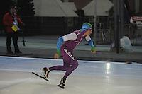 SCHAATSEN: DEVENTER: IJsbaan De Scheg, 26-10-12, IJsselcup, winnaar 2e 500m Sjoerd de Vries, ©foto Martin de Jong