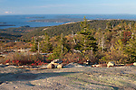 Southern view from Cadillac Mountain, Acadia National Park, Maine, USA
