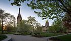 April 23, 2017; Main Quad spring 2017 (Photo by Matt Cashore/University of Notre Dame)