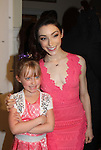 Meryl Davis poses with a fan - The 11th Annual Skating with the Stars Gala - a benefit gala for Figure Skating in Harlem - honoring Meryl Davis & Charlie White (Olympic Ice Dance Champions and Meryl winner on Dancing with the Stars) and presented award by Tamron Hall on April 11, 2016 on Park Avenue in New York City, New York with many Olympic Skaters and Celebrities. (Photo by Sue Coflin/Max Photos)