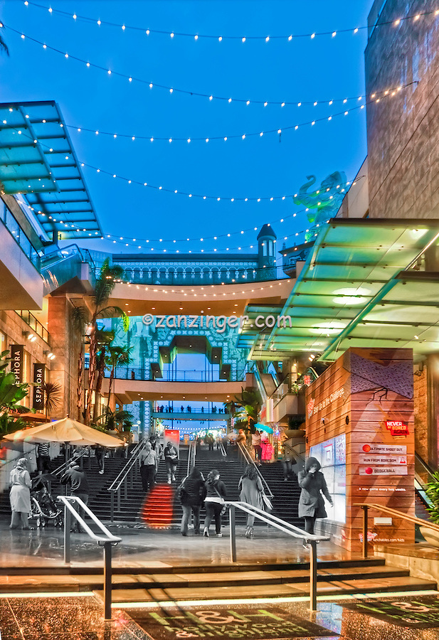 Hollywood Highland Center, Shopping, Hollywood, CA ,Vertical image