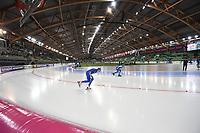 SPEED SKATING: HAMAR: Viking Skipet, 01-02-2019, ISU World Cup Speed Skating, Davide Ghiotto (ITA), Håvard Bøkko (NOR), ©photo Martin de Jong
