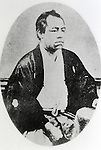 Undated - Shojiro Goto (1838-1897) was a Japanese politician and leader of the Freedom and People's Rights Movement. He was born in Tosa Domain, together with fellow Sakamoto Ryoma.  (Photo by Kingendai Photo Library/AFLO)