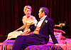 An Ideal Husband by Oscar Wilde<br /> at Festival Theatre Chichester, Great Britain <br /> 25th November 2014 <br /> <br /> directed by Rachel Kavanaugh <br /> <br /> <br /> <br /> Jemma Redgrave as Mrs Cheveley <br /> Jamie Glover as Lord Goring <br /> <br /> <br /> <br /> <br /> <br /> <br /> Photograph by Elliott Franks <br /> Image licensed to Elliott Franks Photography Services