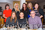 Stacy O'Mahony leaving Specsavers after 8 years. Enjoying a meal with work Colleagues  at Bella Bia's on Saturday pictured Front l-r Tara O'Sullivan, Stacy O'Mahony, Brian Foley.  Back l-r Noreen O'Leary, Katie O'Connor, Maria Brown, Tara Flynn, Christina Dureke
