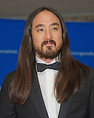 Musician Steve Aoki arrives for the 2016 White House Correspondents Association Annual Dinner at the Washington Hilton Hotel on Saturday, April 30, 2016.<br /> Credit: Ron Sachs / CNP<br /> (RESTRICTION: NO New York or New Jersey Newspapers or newspapers within a 75 mile radius of New York City)