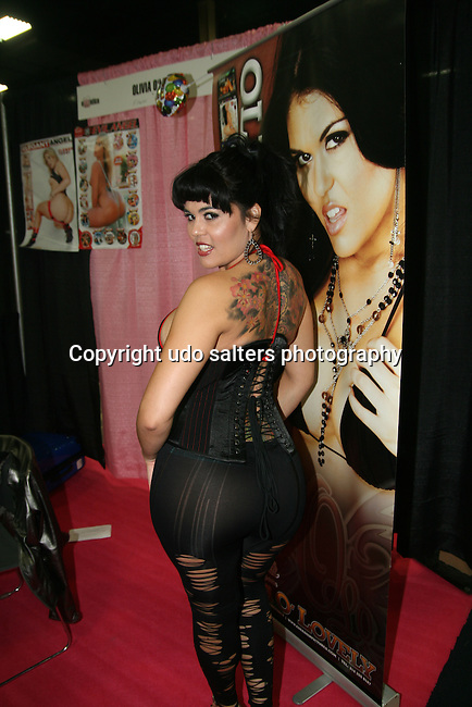 Olivia O'lovely attends EXXXOTICA Expo 2009 held at the Expo Center in Edison New Jersey