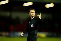 Referee Ross Joyce<br /> <br /> Photographer Alex Dodd/CameraSport<br /> <br /> The EFL Sky Bet League One - Fleetwood Town v Shrewsbury Town - Tuesday 13th February 2018 - Highbury Stadium - Fleetwood<br /> <br /> World Copyright &copy; 2018 CameraSport. All rights reserved. 43 Linden Ave. Countesthorpe. Leicester. England. LE8 5PG - Tel: +44 (0) 116 277 4147 - admin@camerasport.com - www.camerasport.com