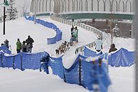 Ryan Redington Saturday, March 3, 2012  Ceremonial Start of Iditarod 2012 in Anchorage, Alaska.