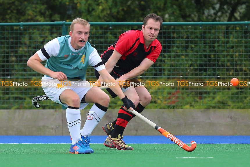 Cambridge University HC 2nd XI vs Havering HC, East Region League Field Hockey at Wilberforce Road on 15th October 2016