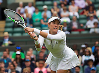 London, England, 30 june, 2016, Tennis, Wimbledon, Garbine Muguruza (ESP)<br /> Photo: Henk Koster/tennisimages.com