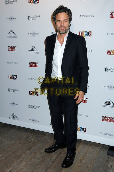 """MARK RUFFALO .""""Sympathy for Delicious"""" Release Party held at the Mondrian Hotel's SkyBar, .West Hollywood, California, .27th April 2011..full length suit  beard facial hair white shirt black jacket .CAP/ADM/BP.©Byron Purvis/AdMedia/Capital Pictures."""