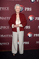"""LOS ANGELES - JAN 16:  Angela Landsbury at the PBS Masterpiece """"Little Women"""" TV show panel, Arrivals, TCA Winter Press Tour at the Langham Huntington Hotel on January 16, 2018 in Pasadena, CA"""