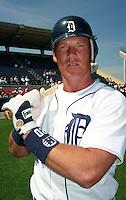 Detroit Tigers Mickey Tettleton (20) during Spring Training 1993 at Joker Marchant Stadium in Lakeland, Florida.  (MJA/Four Seam Images)