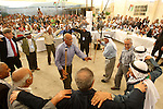Palestinian Prime Minister, Salam Fayyad attends the opening of several centers in Hebron, in the West Bank of Hebron  on June 24, 2012. Photo by Mahmoud  Hrebat