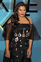 Mindy Kaling at the A Wrinkle In Time - European film premiere at the BFI IMAX, London March 13th 2018<br /> CAP/ROS<br /> &copy;ROS/Capital Pictures /MediaPunch ***NORTH AND SOUTH AMERICAS ONLY***