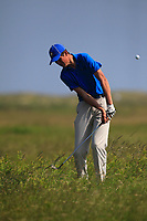 Christo Lamprecht (RSA) on the 9th during Round 4 of the East of Ireland Amateur Open Championship 2018 at Co. Louth Golf Club, Baltray, Co. Louth on Monday 4th June 2018.<br /> Picture:  Thos Caffrey / Golffile<br /> <br /> All photo usage must carry mandatory copyright credit (&copy; Golffile | Thos Caffrey)