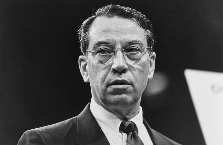 Sen. Chuck Grassley, R-Iowa, on Oct. 31, 1991. (Photo by Laura Patterson/CQ Roll Call via Getty Images)