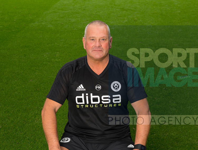 Paul Mitchell of Sheffield Utd during the 2017/18 Photocall at Bramall Lane Stadium, Sheffield. Picture date 7th September 2017. Picture credit should read: Sportimage