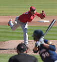 MLB: Shohei Ohtani: Los Angeles Angels - Milwaukee Brewers: Spring training practice game