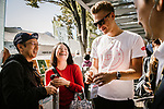 Marcel Kittel (GER) Team Katusha Alpecin at the media day before the 2018 Saitama Criterium, Japan. 3rd November 2018.<br /> Picture: ASO/Pauline Ballet | Cyclefile<br /> <br /> <br /> All photos usage must carry mandatory copyright credit (© Cyclefile | ASO/Pauline Ballet)
