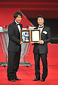 (L to R) Atsuhiro Miura, Daisuke Naito, DECEMBER 5, 2011 - Football : 2011 J.League Awards at Yokohama Arena, Kanagawa, Japan. (Photo by Atsushi Tomura/AFLO SPORT) [1035]