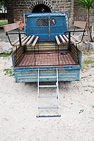 Cutrofiano (Le) - Cantine Aperte 2010 - Masseria L'Astore - Ape utilizzata dai proprietari della masseria per piccoli spostamenti