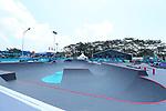 General view,<br /> AUGUST 28, 2018 - Skateboarding : <br /> Men's Park Qualification<br /> at Jakabaring Sport Center Skatepark <br /> during the 2018 Jakarta Palembang Asian Games <br /> in Palembang, Indonesia. <br /> (Photo by Yohei Osada/AFLO SPORT)