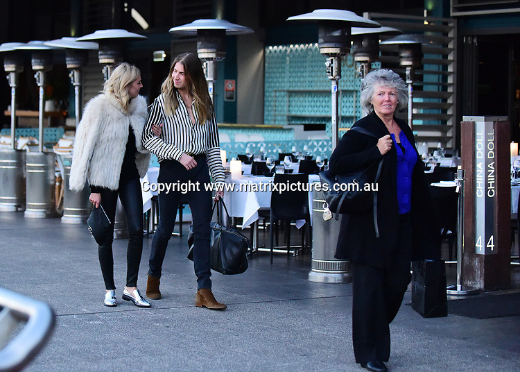 15 May 2017 SYDNEY AUSTRALIA<br /> WWW.MATRIXPICTURES.COM.AU<br /> <br /> EXCLUSIVE PICTURES<br /> Karl Stefanovic, Jasmine and Jade Yarbrough with their respective mothers and Richard Wilkins and son, Prince at China Doll, Wooloomooloo Wharf on 15 May 2017<br /> <br /> *No internet without clearance*.<br /> <br /> MUST CALL PRIOR TO USE <br /> <br /> +61 2 9211-1088. <br /> <br /> Matrix Media Group.Note: All editorial images subject to the following: For editorial use only. Additional clearance required for commercial, wireless, internet or promotional use.Images may not be altered or modified. Matrix Media Group makes no representations or warranties regarding names, trademarks or logos appearing in the images.