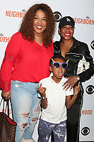"""LOS ANGELES - NOV 18:  Kym Whitley, Joshua Whitley, Tichina Arnold at the The Neighbohood Celebrates the """"Welcome to Bowling"""" Episode at Pinz Bowling Alley on November 18, 2019 in Studio City, CA"""