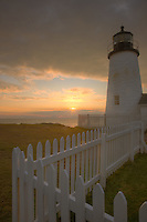 Sunrise at the Pemaquid Point Lighthouse, Bristol, Maine