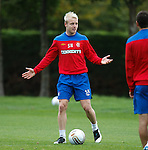 Steven Naismith at training