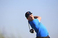 Richard Knightly (Royal Dublin) on the 2nd tee during Round 2 of the East of Ireland Amateur Open Championship 2018 at Co. Louth Golf Club, Baltray, Co. Louth on Sunday 3rd June 2018.<br /> Picture:  Thos Caffrey / Golffile<br /> <br /> All photo usage must carry mandatory copyright credit (&copy; Golffile | Thos Caffrey)