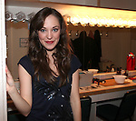 Laura Osnes.backstage after the Opening Night Performance of New York City Center Encores! 'Pipe Dream'  in New York City on 3/28/2012.