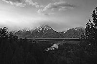Snake River overlook. Teton National Park, Wyoming.