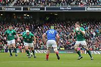 Sunday10th March 2019 | Ireland vs France<br /> <br /> Iain Henderson the Guinness 6 Nations clash between Ireland and France at the Aviva Stadium, Lansdowne Road, Dublin, Ireland. Photo by John Dickson / DICKSONDIGITAL