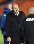 Dundee United v St Johnstone....21.11.15  SPFL,  Tannadice, Dundee<br /> Mixu Paatelainen shows his frustration<br /> Picture by Graeme Hart.<br /> Copyright Perthshire Picture Agency<br /> Tel: 01738 623350  Mobile: 07990 594431