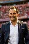 12.05.2018, Allianz Arena, Muenchen, GER, 1.FBL,  FC Bayern Muenchen vs. VfB Stuttgart, im Bild Hasan Salihamidzic (Sportdirektor FCB) <br /> <br />  Foto &copy; nordphoto / Straubmeier