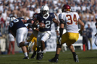 01 October 2005:  Penn State QB Michael Robinson (12) runs a QB keeper upfield.  Penn State Nittany Lions  defeated the Minnesota Golden Gophers  44-14 September 1, 2005 at Beaver Stadium in State College, PA..
