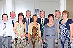 Eugene Kennedy, Gabriel Gallagher, Nancy Kennedy, Cllr: Brendan Cronin, Allison O'Sullivan, Robert Gallagher, Marian Gallagher, Noel O'Sullivan and Margaret Gallagher at the Killorglin Golf Club social in the Killarney Oaks Hotel Saturday night   Copyright Kerry's Eye 2008