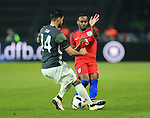 Germany's Emre Can tussles with England's Danny Rose during the International Friendly match at Olympiastadion.  Photo credit should read: David Klein/Sportimage