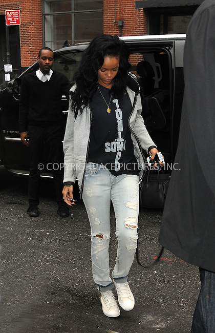 WWW.ACEPIXS.COM . . . . .  ....May 2 2012, New York City....Singer Rihanna arrives at her midtown hotel on May 2 2012 in New York City....Please byline: CURTIS MEANS - ACE PICTURES.... *** ***..Ace Pictures, Inc:  ..Philip Vaughan (212) 243-8787 or (646) 769 0430..e-mail: info@acepixs.com..web: http://www.acepixs.com