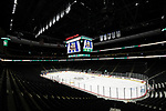 ST PAUL, MN - APRIL 7: A general view of the Xcel Energy Center prior to the Division I Men's Ice Hockey Championship held on April 7, 2018 in St Paul, Minnesota. (Photo by Tim Nwachukwu/NCAA Photos via Getty Images)